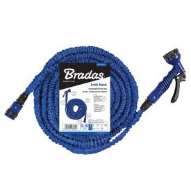Шланг розтягується BRADAS набір TRICK HOSE 10-30м синій пакет (WTH1030BL-T-L)