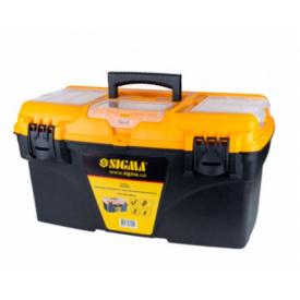 Ящик для інструменту зі знімними органайзерами Sigma 510х291х280мм (7403951)