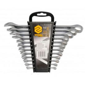 Ключи рожково-накидные VOREL М6-22мм 12шт (51722)