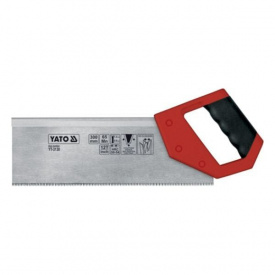 Ножовка пасовочная для стусла YATO 50-54HRC 300мм 0,8мм (YT-3130)