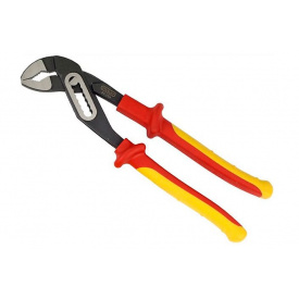 Клещи переставные сантехнические STANLEY 255 мм, изолированные ручки (0-84-294)