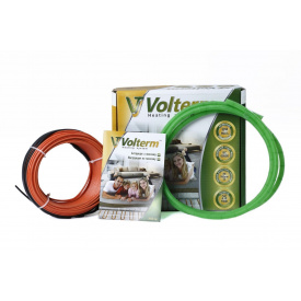 Тепла підлога Volterm HR 18W на 1,6-2 м2/280Вт/16м електричний тонкий