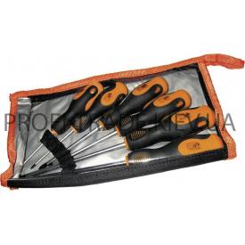 63-451 Набор отверток с эргономичной рукояткой CRV 6 шт в сумке