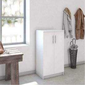 Шкаф с полками для одежды и обуви Forte Felix 1080x562x402 Белый