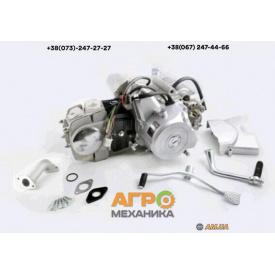 Двигатель на мопед Delta/Alpha/Active 125 сс механическое сцепление Слон (тюнинг)