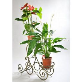 Подставка для цветов Холодная ковка Сани 2