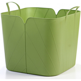 Корзина пластичная Keter Tulip Flexi Tub 43 л оливковая