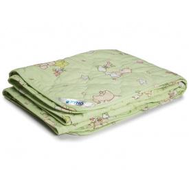 Одеяло детское шерстяное Руно демисезонное салатовое 140x105 см