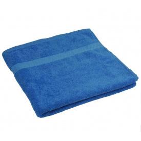 Полотенце махровое Руно 70x140 см Синее
