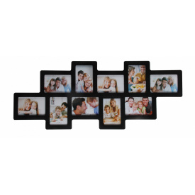 Мультирамка для фото Angel Gifts 10 в 1 чорна (BIN-112122 (b))