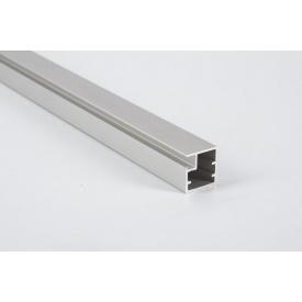 Алюминиевый рамочный профиль для мебельных фасадов М 1 5,95 м алюминий натуральный