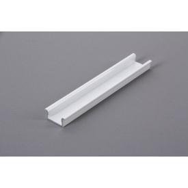 Алюмінієвий профіль виразний для світлодіодної стрічки LED білий 5950 мм