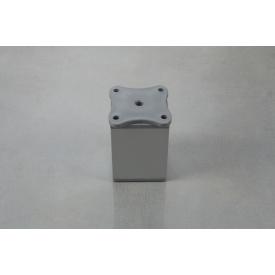 Мебельная ножка GTV с регулировкой DAKP-27 60 мм алюминий