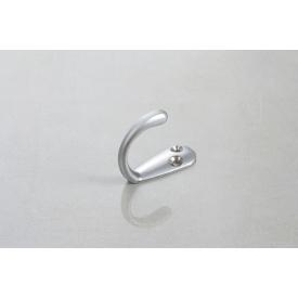 Мебельный крючок GTV MALAGA C0 одинарный алюминий