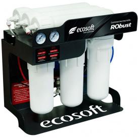 Обратный осмос Ecosoft ROBUST 1000 60 л ч 3x1812-100 диафрагменные 80 Вт ROBUST1000