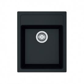 Кухонная мойка Franke SID 610-40 Черная матовая 114.0497.988