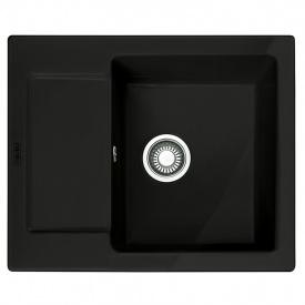 Мойка керамика Fraceram MRK 611-62 черный матовый Franke (124.0380.345)