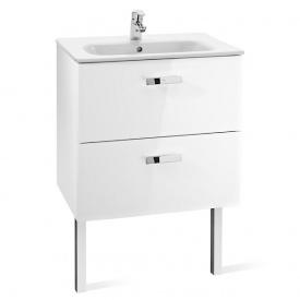 VICTORIA шкафчик с умывальником 60 см белый Roca A855884806