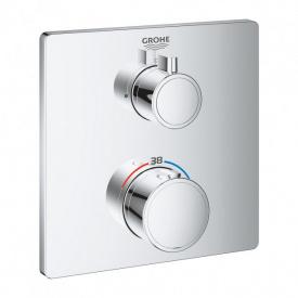 Grohtherm Термостат для душа с переключателем на 1 положение GROHE 24078000