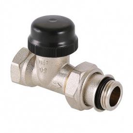 Клапан термостатичний прямий з переднастройкою 1/2 Valtec VT.038.N.04