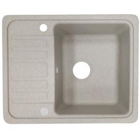 Кухонна мийка Adamant SMALL 570х455х180, з сифоном, 06 авена