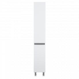 Пенал підлоговий AM.PM X-Joy 35 см, лівий, з кошиком для білизни, білий глянець M85CSL0351WG38