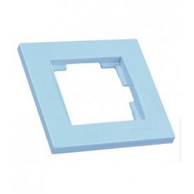 Рамка одномісна RITA Mutlusan блакитний