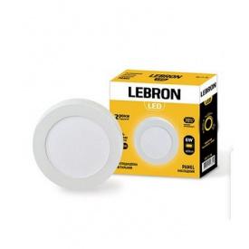 LED світильник LEBRON L-PRS-641 6W накладний 4100K з блоком живлення