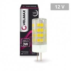 LED лампа VELMAX V-G4 3W 12V G4 4500K 280LM угол 360°