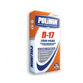 Клей для пінополістиролу та мінеральної вати POLIMIN П-17 25кг