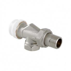 Клапан термостатичний кутовий з осьовим управлінням 1/2 Valtec VT.179.N.04