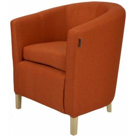 Кресло Richman Бафи 65 x 65 x 80H Etna 051 Оранжевое