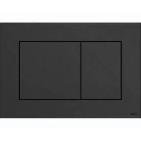 Панель двойного смыва TECEnow для унитазов черная 9240403