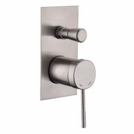 BRENTA змішувач для ванни прихований монтаж нікель 35мм IMPRESE ZMK081906041