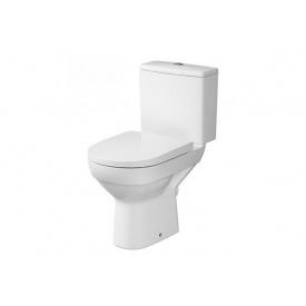 Унитаз напольный Cersanit CITY CLEAN ON 010 в комплекте с бачком 3/5 с сиденьем дюропласт с системой плавного опускания K35-035