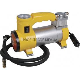 81-117 Миникомпрессор автомобильный с фонариком 2 в 1 12 В 10 бар 35 л/мин
