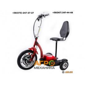 Электросамокат с сиденьем T06-1 36V350W 12AH - SM (красный)
