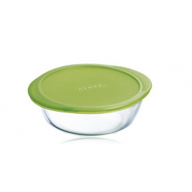 Форма Pyrex Cook&Store 26 см 2,3 л кругла з кришкою