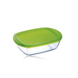 Форма Pyrex Cook&Store 17х10х5 см 0,35 л з кришкою прямокутна