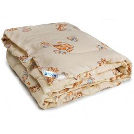 Одеяло детское шерстяное Руно зимнее бежевое 140x105 см