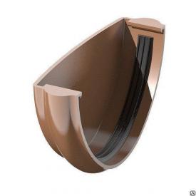 Заглушка ринви Verat Техноніколь 125/82 мм коричнева