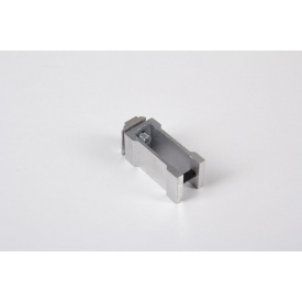 З'єднувальне кріплення до алюмінієвої квадратної труби 30х30 НЕ анодируване для меблевих конструкцій