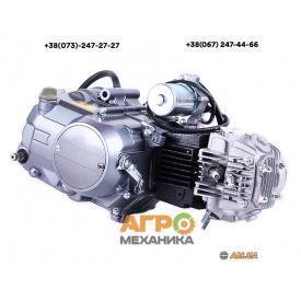 Двигатель на мопед Дельта/Альфа/Актив (110CC) - механика
