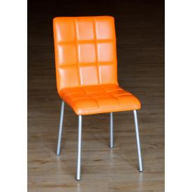 Стілець Аманда оранжевий 430х520х870 мм