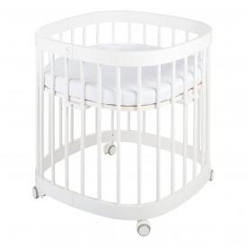 Детская кроватка многофункциональная Tweeto 7 в 1 белое