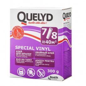 Клей д/шпалер QUELYD спеціальний вініловий (бузковий) (30)