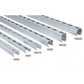 Профіль монтажний 30х15 2 м тип WM1 Walraven 6505001