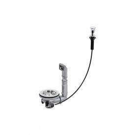 Вентиль ексцентрик 3 Pop Up з переливом для мийки з нерж сталі Franke 112.0158.424