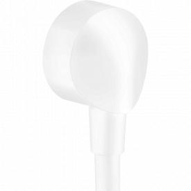 FIXFIT E шланговое подсоединение 1/2 без клапана обратного тока воды внутренняя часть из латуни цвет покрытия белый матовый HANSGROHE 27454700