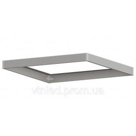 Рамка для накладного монтажа LED панелей 600х600 для светодиодных светильников